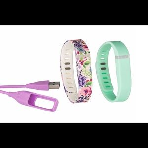 activity tracker bands and charger combo pack